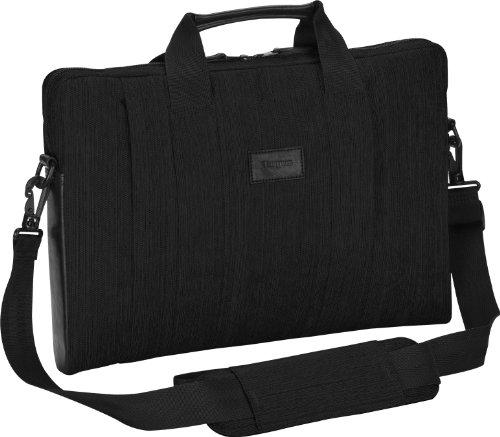 Targus CitySmart Slipcase Sleeve with Strap for 16-Inch Laptops, Black (TSS594US)
