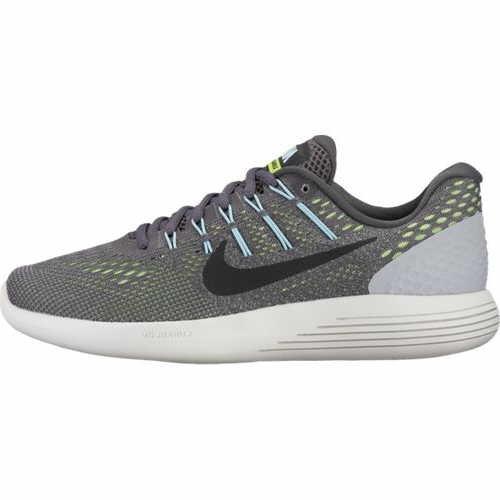 Galleon - Nike Womens LunarGlide 8 Running Shoe Dark Grey Black Ghost  Green Glacier Blue Size 7 M US b9580ba59