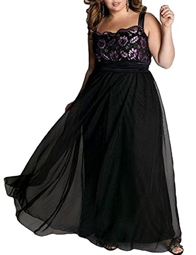 [Women's Sexy Plus Size Dress Sleeveless Floral Print Braces Skirt Evening Dress (5XL)] (Floral Long Skirt Evening Gown)