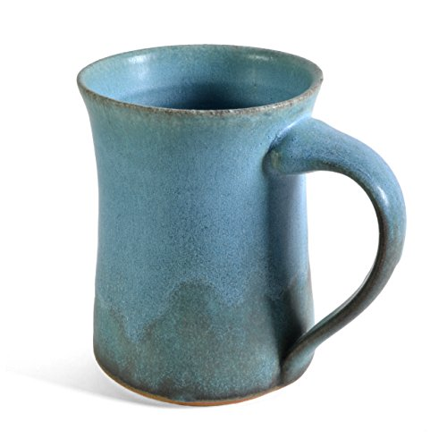 Dock 6 Pottery Mug, Turquoise