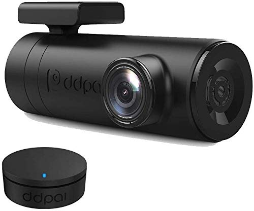 Dash Cam, DDPai Mini2P Car Dash Camera, Distortionless 2K Ultra HD 1440P, Wide Dynamic Range, 140