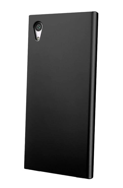 super popular 351e7 085cf FABCARE Back Cover for Sony Xperia XA1 Back Cover Case - Black
