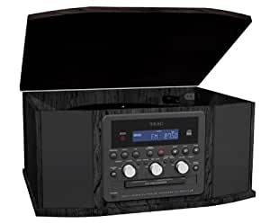 TEAC GF-550 Turntable with Cassette, Radio and CD Recorder (Discontinued by Manufacturer)