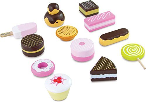 Vilac Wooden Baby Toy, Pastry