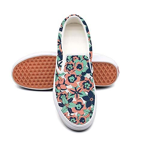 Grasshoppers Women's Janey Ii Fashion Sneaker Tropical Color Flowers
