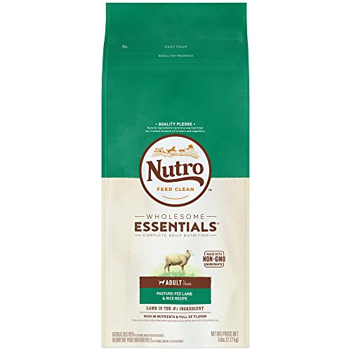 Nutro WHOLESOME ESSENTIALS Adult Pasture-Fed Lamb & Rice Recipe 5 Pounds