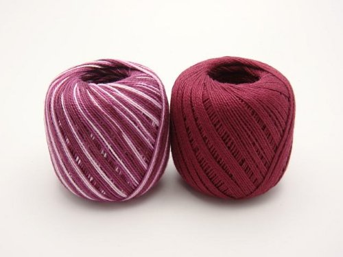 Lot 45 Balls Size 10 Crochet Cotton Threads Yarn Knitting. All Different Colors. by  Clea 125 (Image #8)
