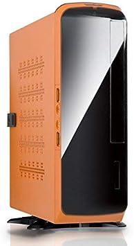 In win Caja Mini-itx bq660 Negra/Naranja 120w: Amazon.es ...