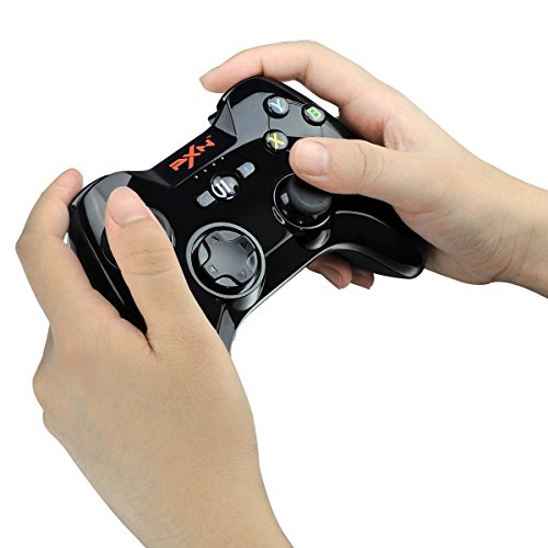 Apple MFi Certified - PXN PXN-6603 Speedy Wireless Gamepad Game Controller Made for iPhone/ iPad/ iPod touch Color Black by PXN (Image #2)