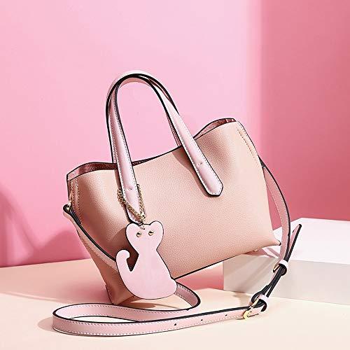 Moda Coreana Green 22x16x9cm Borsa Pink Bag Tracolla Versione Da Messenger Spalla Tote A Della colore Borsetta Di Flysxp In Donna pYtqxU