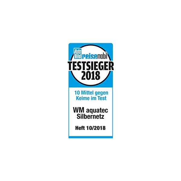 WM aquatec Silbernetz zur autom. Wasserkonservierung für Frischwassertanks bis 50 Liter & Caramba 619902 Silikon Spray…