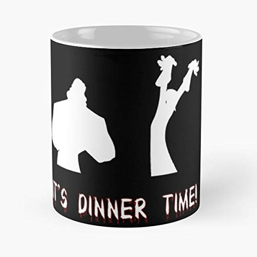 Dinner Time - The Emperor's New Groove Classic Mug Coffee Tea 11 Oz Mugs Unique Ceramic Novelty Cup, Best Gift For Holidays