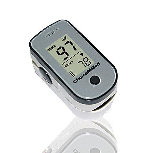 Oxímetro de pulso ChoiceMMed con brillo llevado/Pantalla LCD: Amazon.es: Electrónica