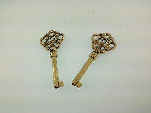 KEVNATSS Grandfather Clock Door Key Set of 2 for Howard Miller Floor Clock and Others by SELLER@SHOP (Image #1)