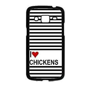 Love Heart Chickens Samsung Galaxy Grand 2 G7106 Case - Fits Samsung Galaxy Grand 2 G7106