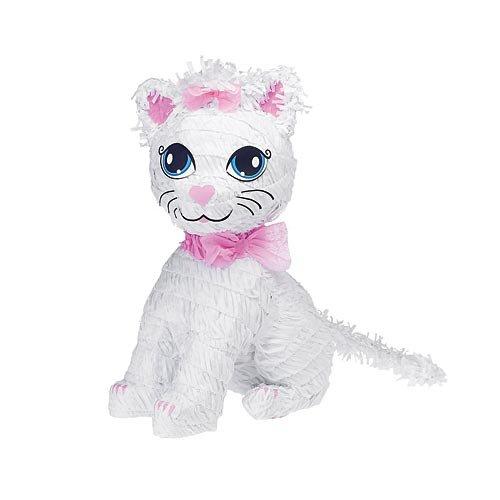 Ya Otta Pinata BB021474 Kitty Cat Pinata (Pull String Pinata Cupcake)