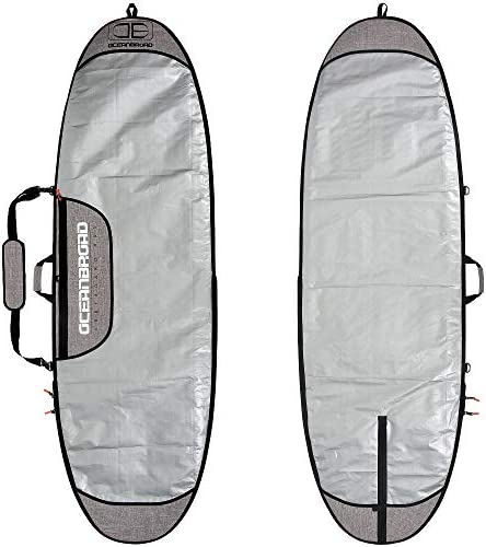 OCEANBROAD ショートボード トラベルバッグ サーフボード デイバッグ ロングボード カバー キャリーバッグ 6フィート0, 6フィート6, 7フィート0, 7フィート6, 8フィート0, 8フィート6, 9フィート0, 9フィート6, 10フィート0