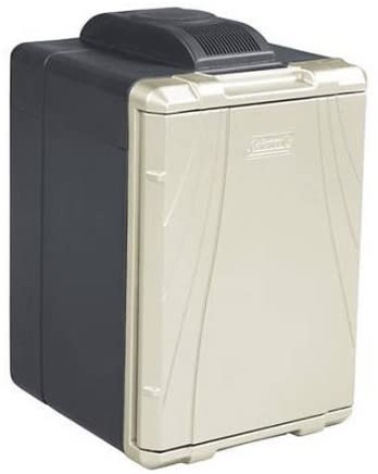 Black Portable Adjustable NEW 40 Quart Powerchill Thermoelectric Cooler Silver