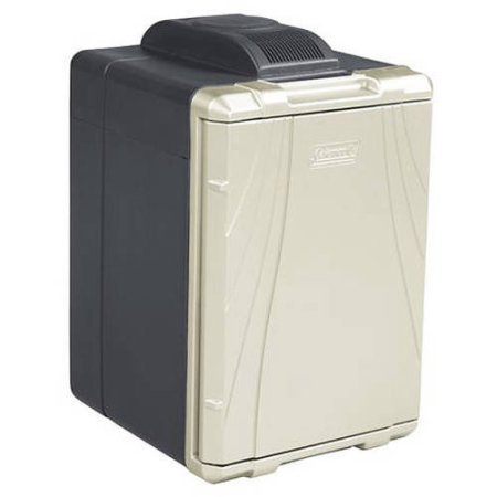 - Coleman 40-Quart PowerChill Thermoelectric Cooler with Power Cord, Black/Silver