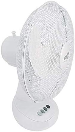 Ventilatore da tavolo Adler AD7303 30cm 70W colore bianco