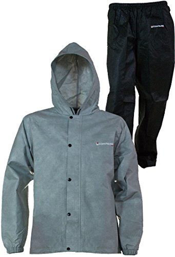 COMPASS 360 SportTEK 360 Waterproof Rain Suit; Jacket and Pants (Large, ()