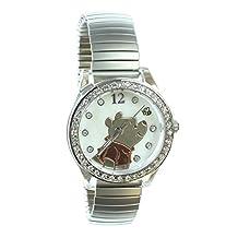 Winnie the Pooh Women's Watch with Rhinestones WP2717