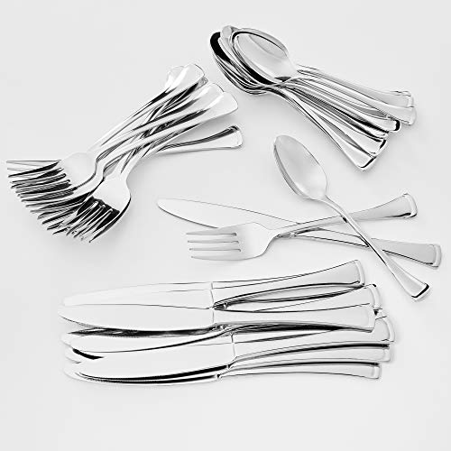 (Oneida Emma 36-Pc Stainless Steel Flatware Set - Service for 12 )