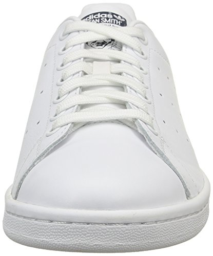 White Unisex dark Da Bianco Adidas Scarpe core Tennis Blue adulto Stan Smith AOzwqR6