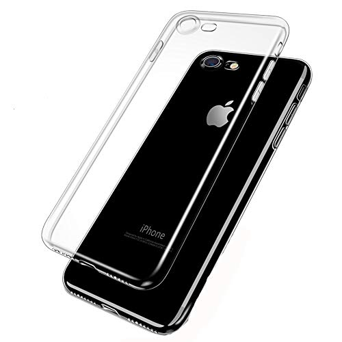 Clear Silicon Ultra Thin Soft TPU Case For iPhone White For 6Plus and 6sPlus