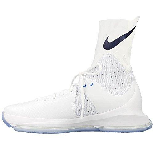 Nike Herren KD 8 Elite Basketballschuhe Weiß / Midnight Navy