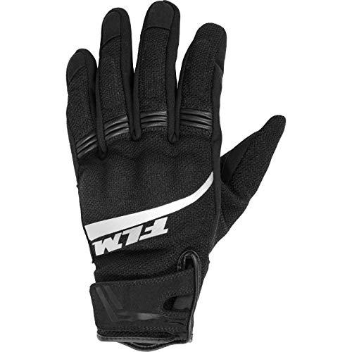 FLM Motorradhandschuhe kurz Motorrad Handschuh Sommer Textilhandschuh 1.0, Herren, Sportler