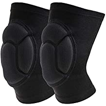 Knee Brace,YZG life(1 Pair) Thick Sponge Collision Avoidance Kneeling Kneepad Outdoor Climbing Sports Riding Protector Protection (Large)