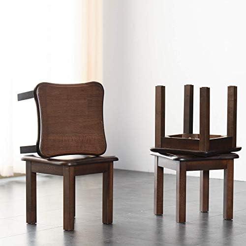 XHCP Tabouret de Banc de Chaussure de Changement de Bois Massif Multifonctionnel Petit Banc de Chaise de Table de thé de canapé de Tabouret de Pied RF-1359