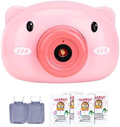バブルカメラ、バブルメーカーマシン、子供用電動自動吹くバブル玩具