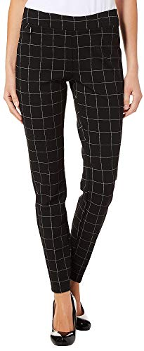 Zac & Rachel Womens Grid Print Pull On Pants X-Large for sale  Delivered anywhere in USA