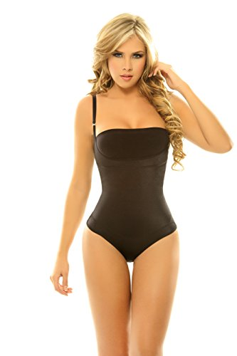 Shaper Body Compression (Siluet Firm Compression Braless Body Shaper in Thong)