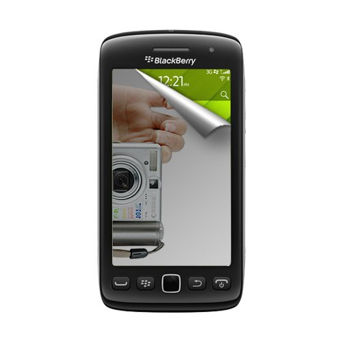 Amzer Mirror Screen Protector with Cleaning Cloth for BlackBerry Torch 9850/9860 (Screen Protectors 9850)