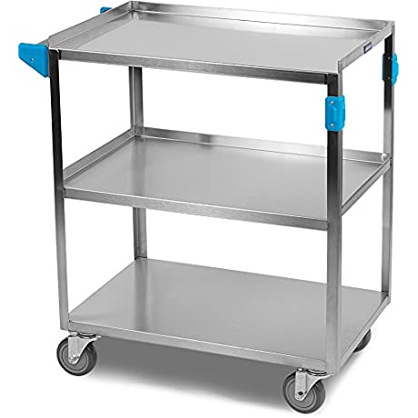 Carlisle Commercial Stainless Steel Utility Service Cart