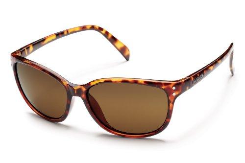 Suncloud Flutter Polarized Sunglasses, Tortoise Frame, Brown - Warranty Suncloud Sunglasses
