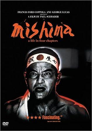 Resultado de imagem para Mishima: A Life in Four Chapters poster