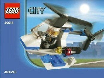 Lego, City Police Helicopter Bagged