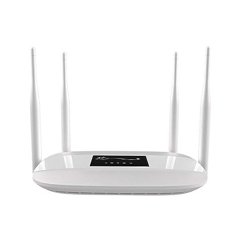 MMFFYZ Smart WiFi Router - Router WiFi En Casa 300Mbps 4 ...