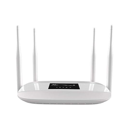 MMFFYZ Smart WiFi Router - Router WiFi En Casa 300Mbps 4 Antena ...