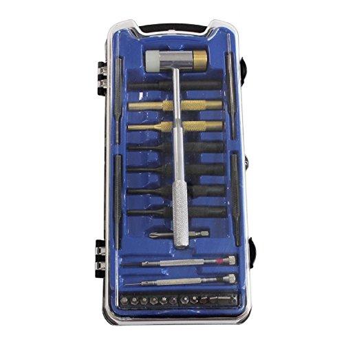 Birchwood Casey 42021 Weekender Professional Gunsmith Kit 27 Tools, Black