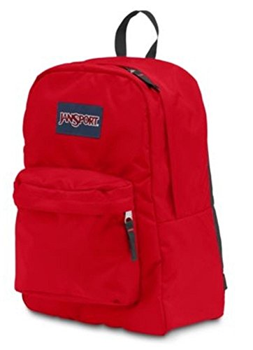 Brand New NEW JANSPORT BACKPACK SUPERBREAK HIGH RISK RED PADDED SHOULDER STRAP by JanSport