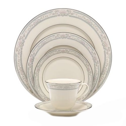 Lenox Charleston Platinum-Banded 5-Piece Place Setting, Service for 1