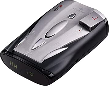 Cobra XRS 9600 11-Band Radar Laser Detector with IntelliShield False Signal Rejection
