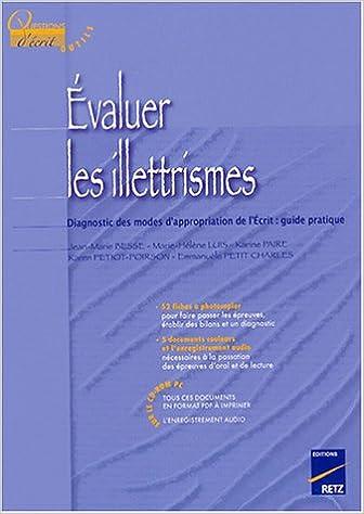 Téléchargement Evaluer les illettrismes pdf