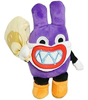 Mario Bro: 9-inch Purple Masked Nabbit Thief Plush Doll