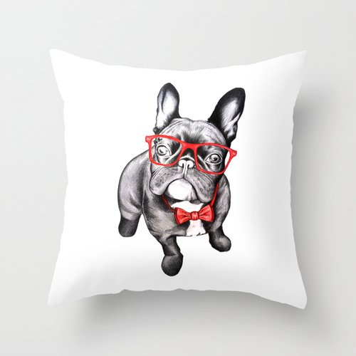 Dogs Throw Pillow Covers,for Flag Day, Father's Day, Chair, Office, Car Seat, Thanksgiving Day, Car, Home Decortivation, Columbus Day, Kids Room, 18 X 18 Inch / 45 By 45 Cm(double - Northern Square Pillow